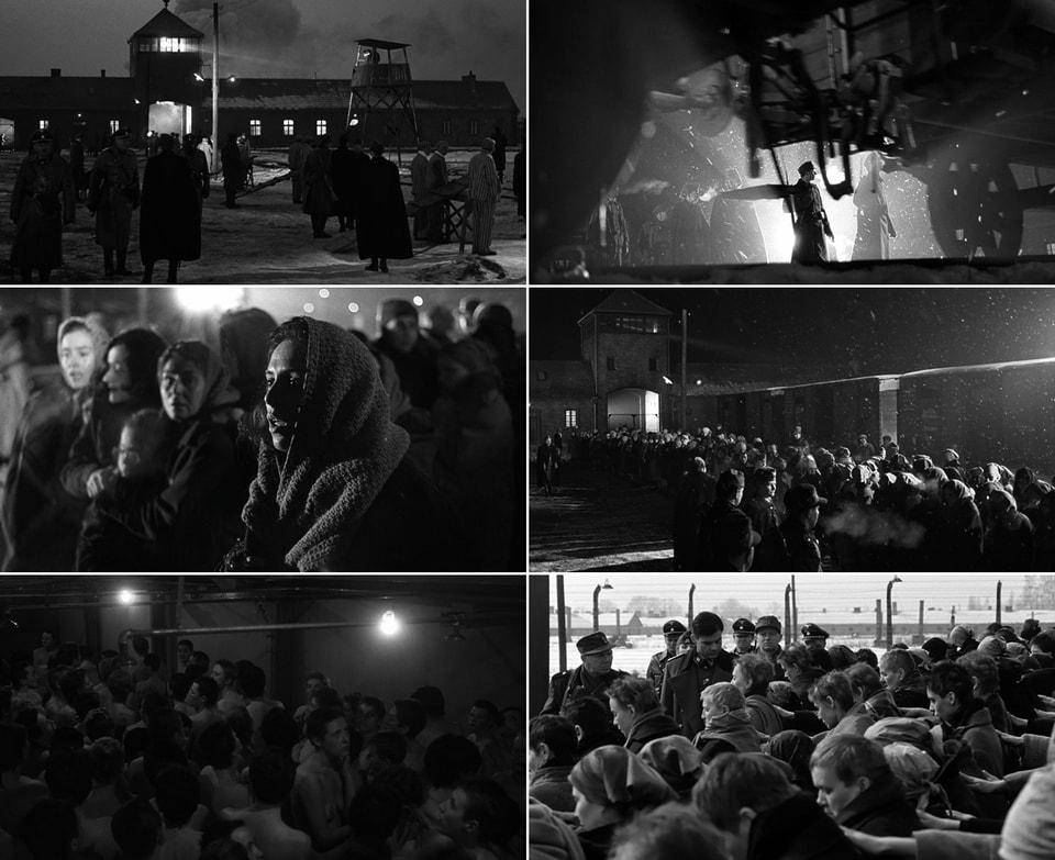 Женщины прибывают в Аушвиц-Биркенау