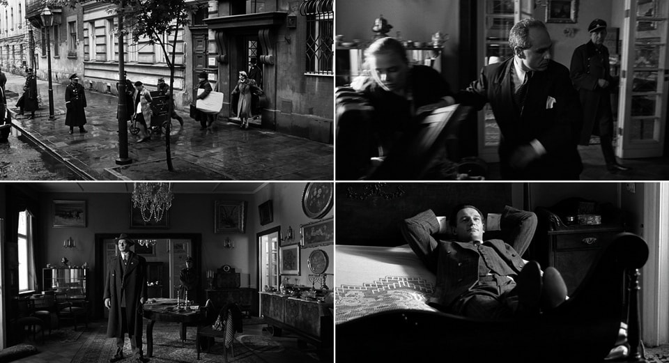 Where was Schindler's list filmed - Schindler's apartment
