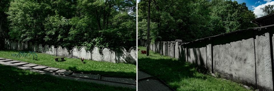Стена краковского гетто