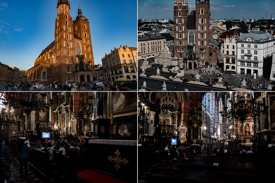 St. Mary's Basilica Schindler's list filming locations
