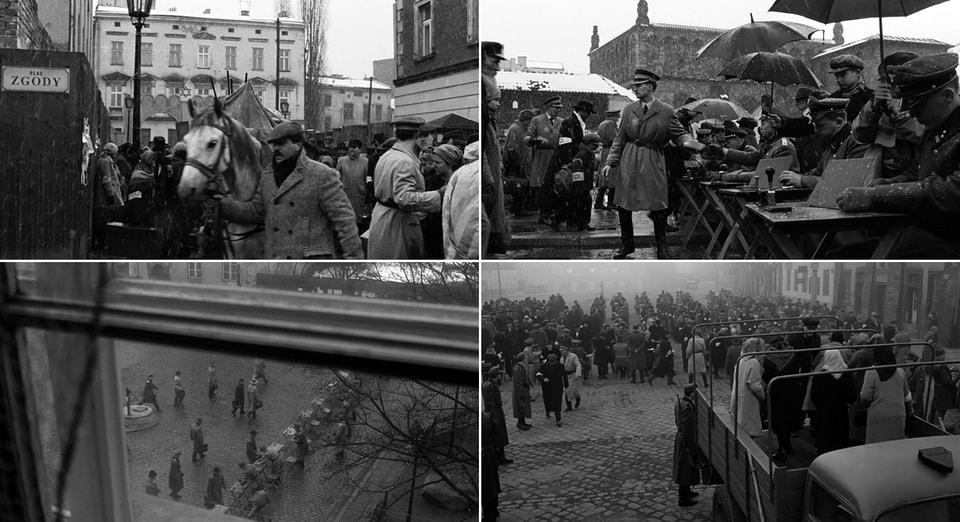 Ghetto main square (Plaz zgody). Steven Spielberg
