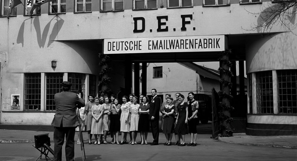Oscar Schindler's factory. Schindler's list movie