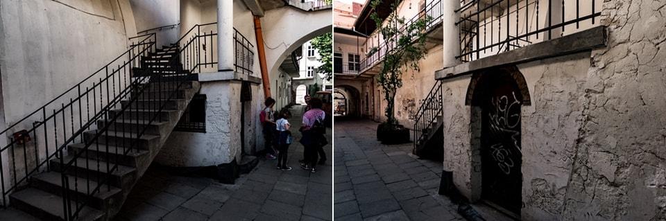 Лестница, где прятались Дрезнеры