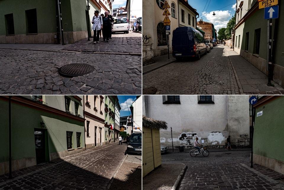 Леопольд Пфефферберг на улице Кракова