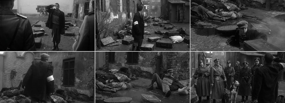 Leopold Pfefferberg in the street. Schindler's list 1993