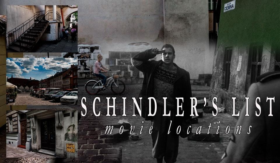 Места из фильма Список Шиндлера 1993