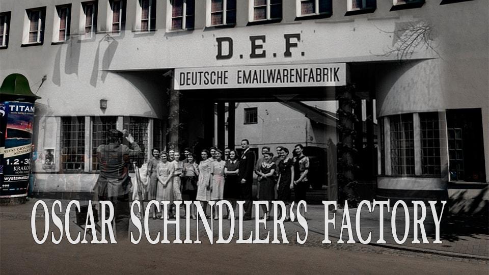 Фабрика Оскара Шиндлера в Кракове DEF Deutsche Emailwarenfabrik