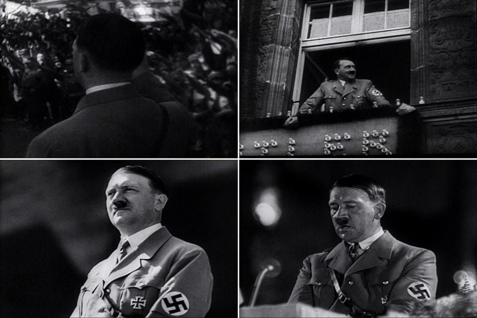THE PRESENTATION OF HITLER triumph of the will