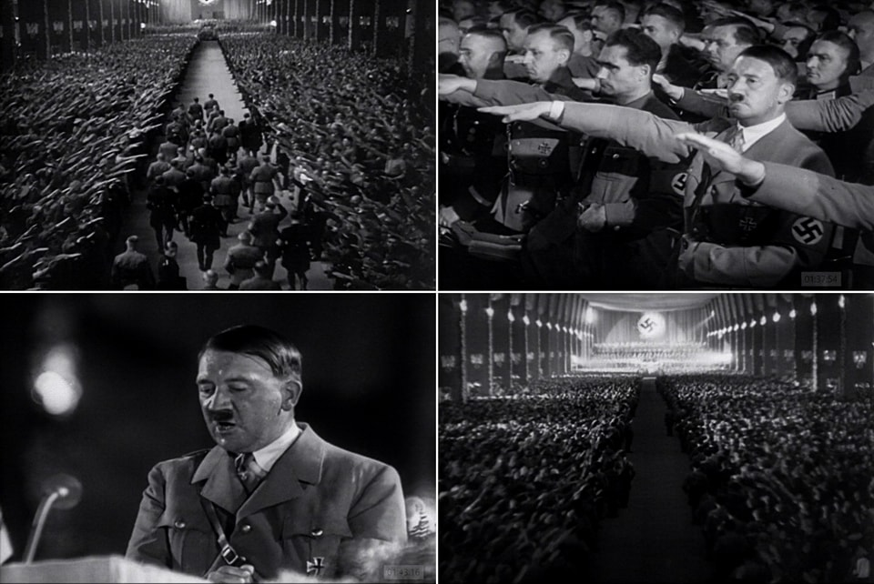 Adolf Hitler closing ceremony triumpf of the will 1934
