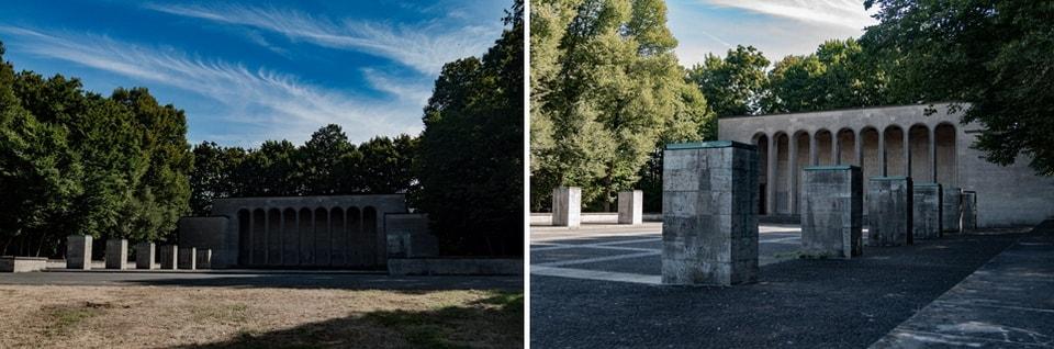 'EHRENHALLE' WAR MEMORIAL Nuremberg