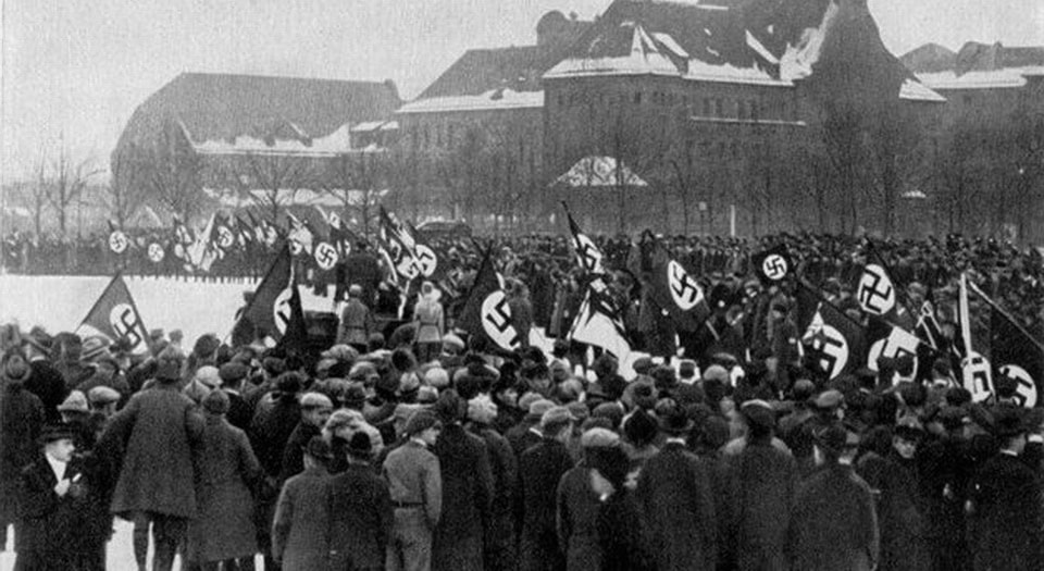 The first official NSDAP Party Congress