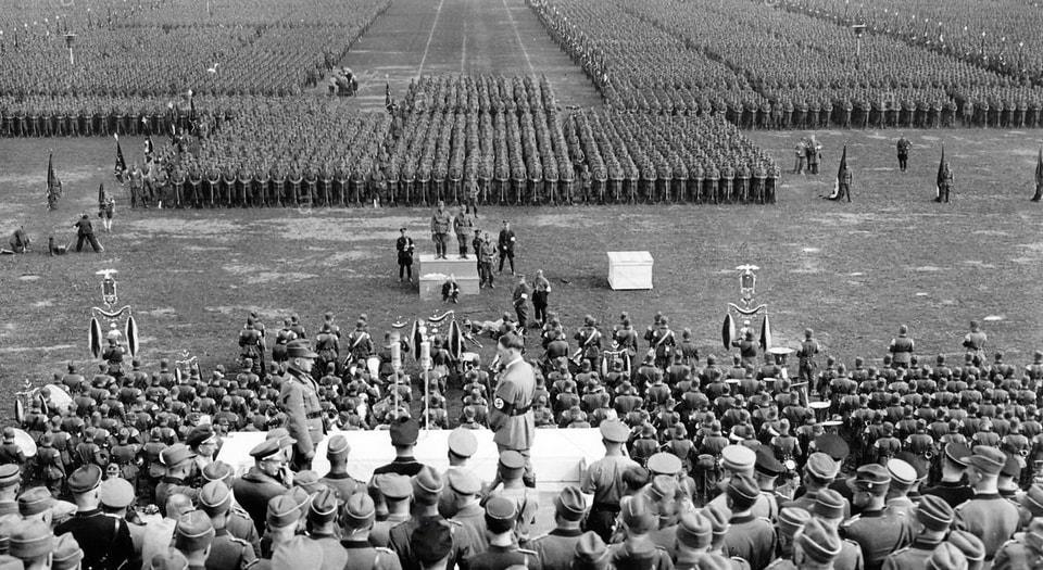 'Reichsparteitag der Einheit und Stärke' - Unity and Strength.