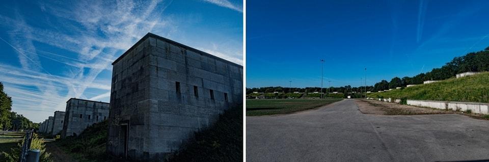 Поле Цеппелина в Нюрнберге. Территория партийных съездов