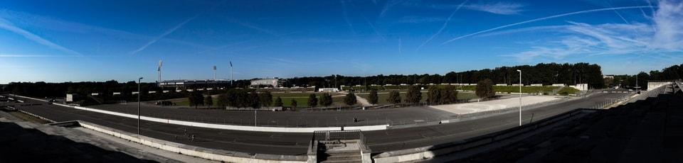 Панорама на Поле Цеппелина