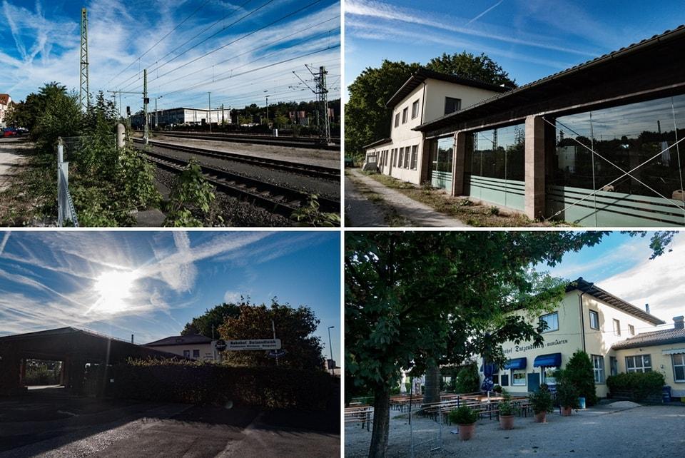 ЖД Станция BAHNHOF DUTZENDTEICH
