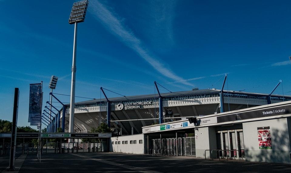 'STADTISCHES STADION' (MUNICIPAL STADIUM) Nuremberg