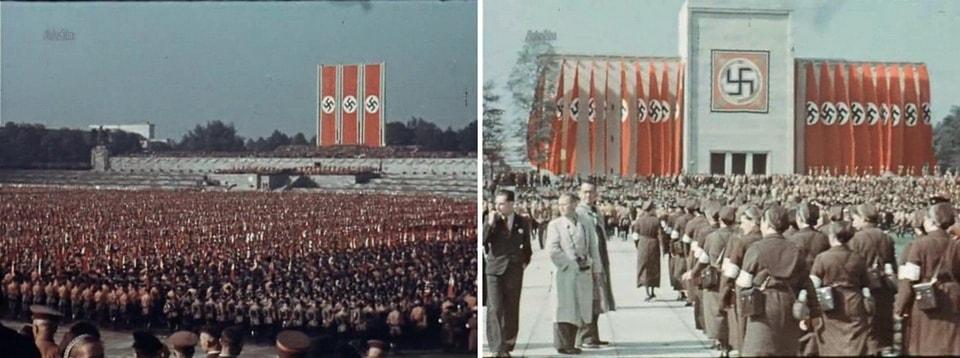 Сентябрь 1938 года. X партийный съезд в Нюрнберге