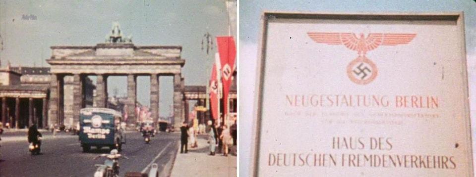 кадры подготовки Берлина к проведению Олимпийских игр