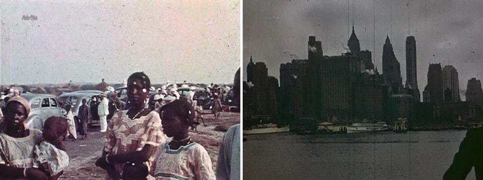 Поездки в Дакар и США 1938