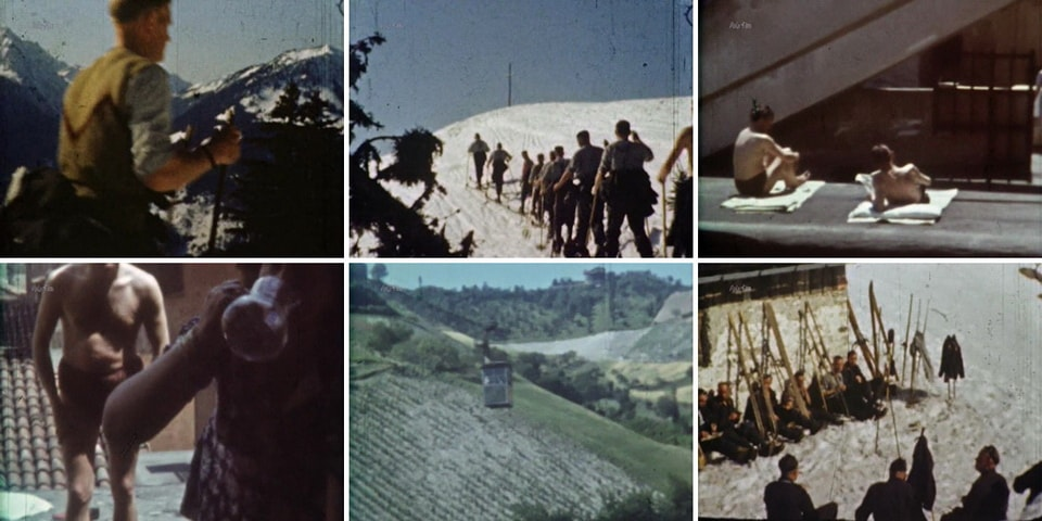 Немецкие солдаты в тылу