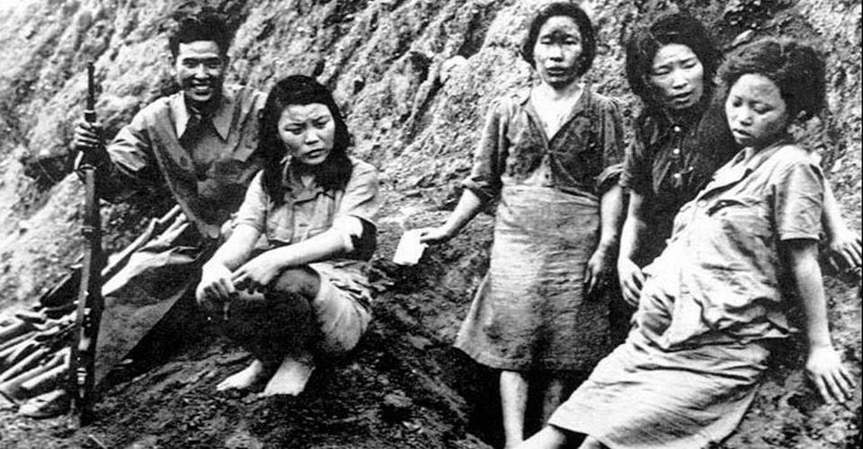 Изнасилование японскими солдатами китайских женщин, женщин Запада