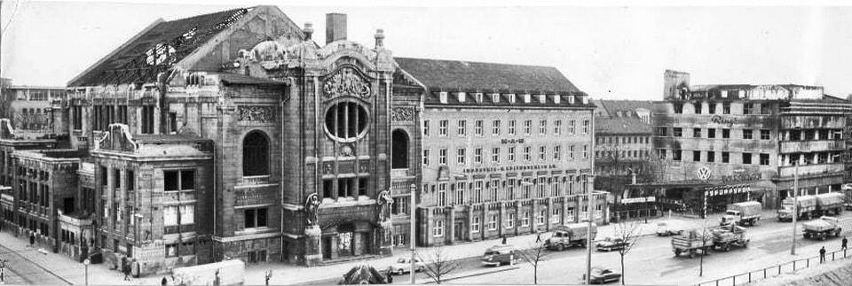 'Kulturvereins Haus' in Nuremberg