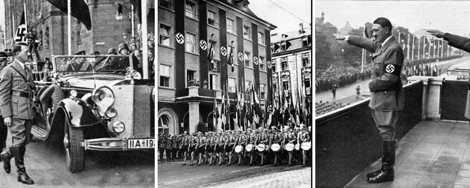 DEUTSCHER HOF. Nazi nuilding in Nuremberg
