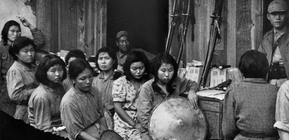Бордели и дома для утех японских солдат. Женщины для утех, их судьба и откровения