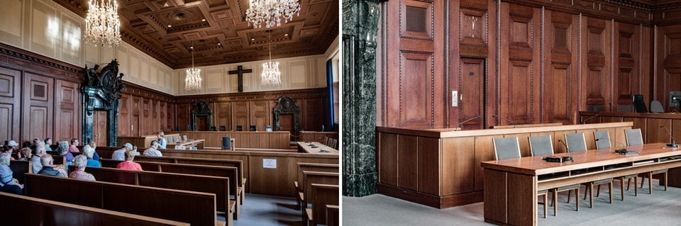 COURTROOM 600 Nuremberg International Military Tribunal