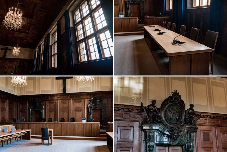 COURTROOM 600 Museum Nuremberg Trials