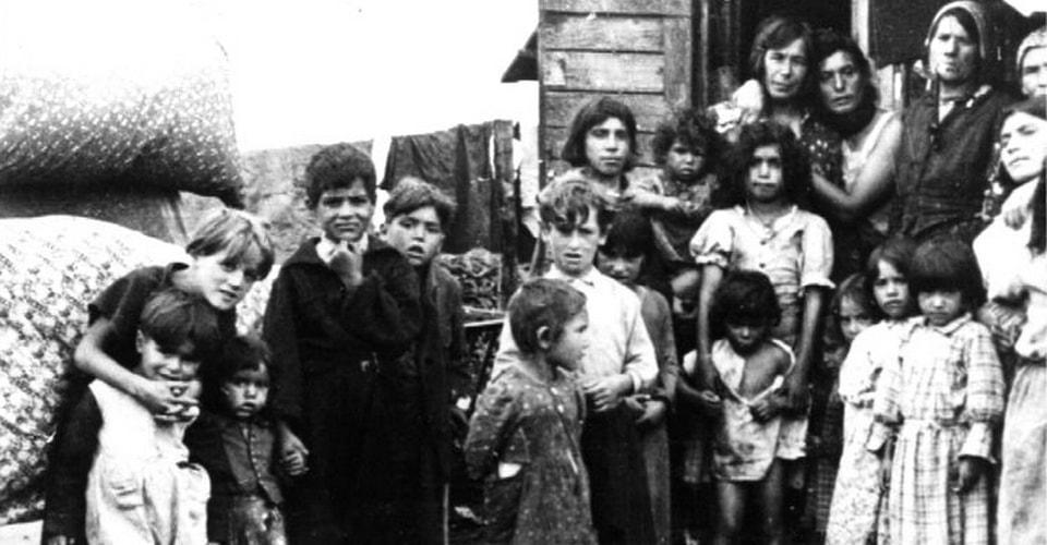 Ликвидация лагеря цыган