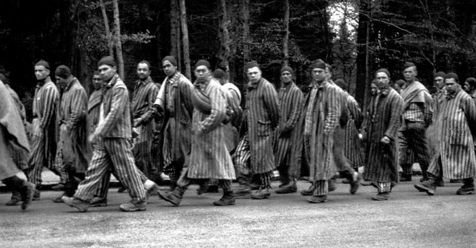 Марши смерти 1945 года Аушвиц