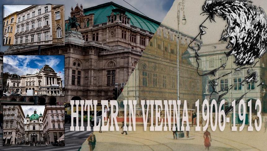 Adolf Hitler in Vienna 1906-1913. Hitler Vienna period