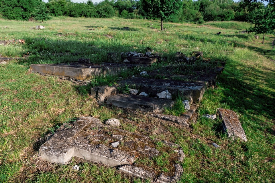 The Old Cemetery of the Jewish Commune in Podgórze