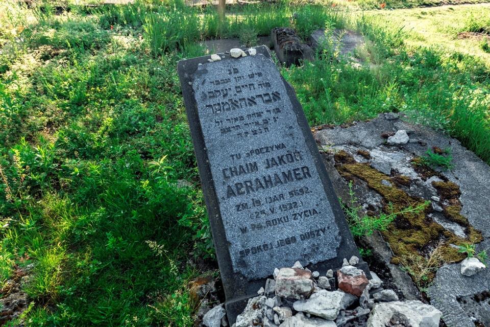 The Old Jewish Cemetery at Plaszow Chaim Jakub Abrahamer
