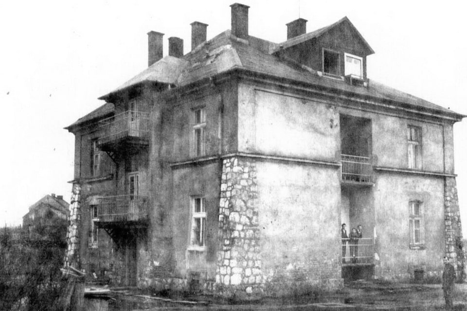 Grey house Krakow