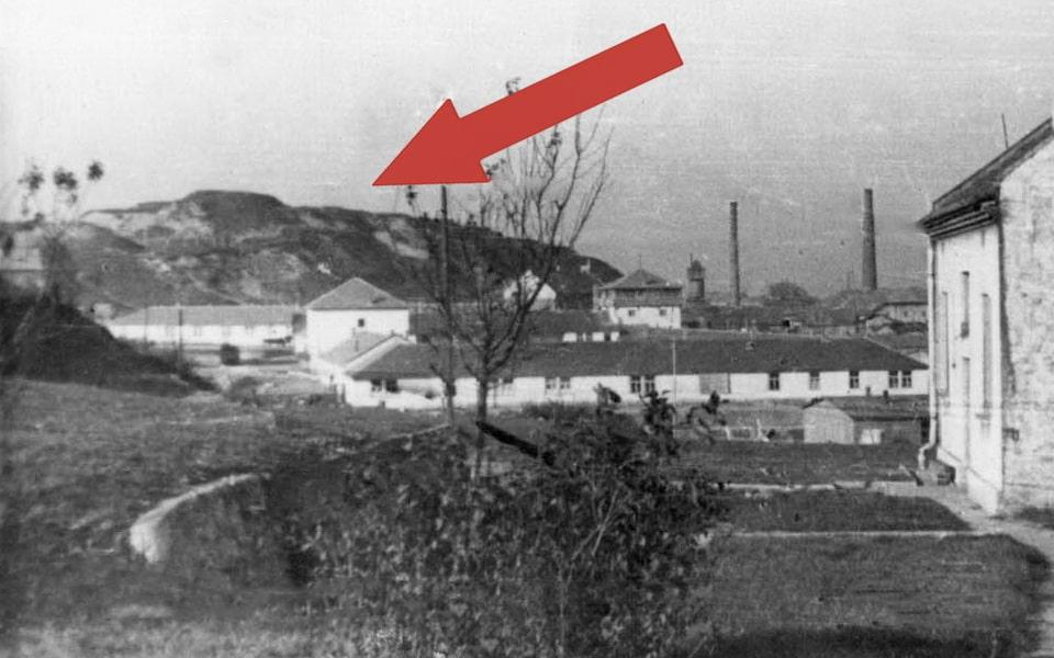 Hujowa Górka konzentrationlager Plaszow