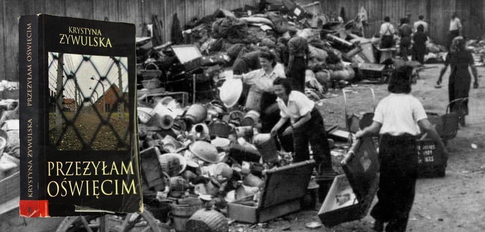 Книга Я пережила Освенцим Кристина Живульская