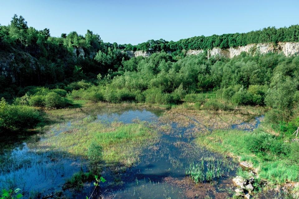 Liban granite quarry in Krakow