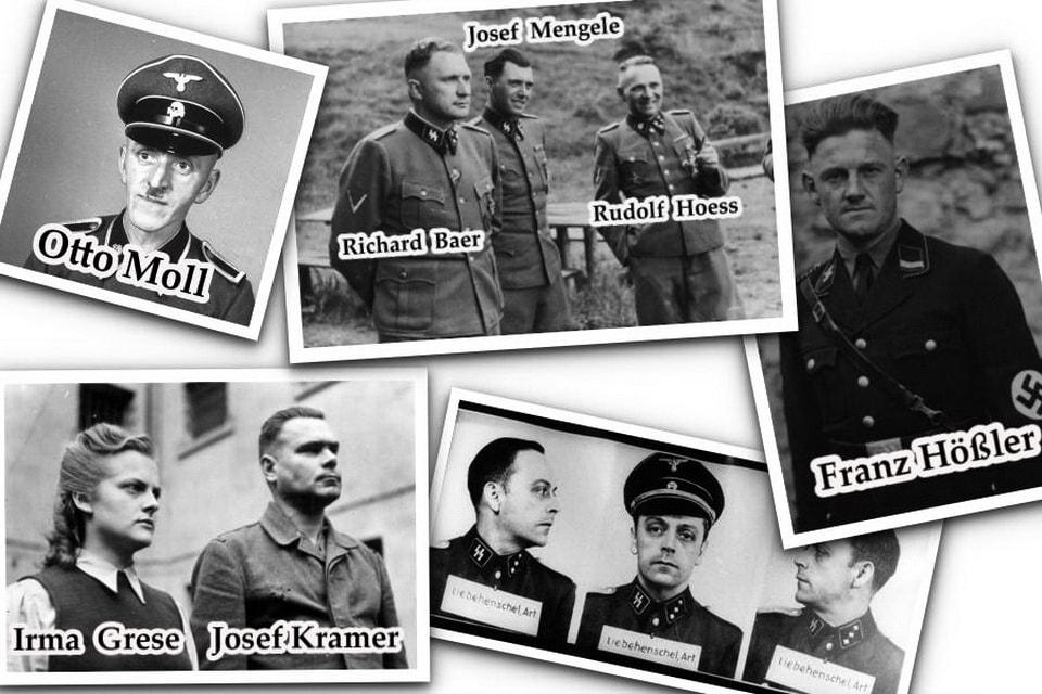Упоминаемые в книге личности. Я пережила Освенцим