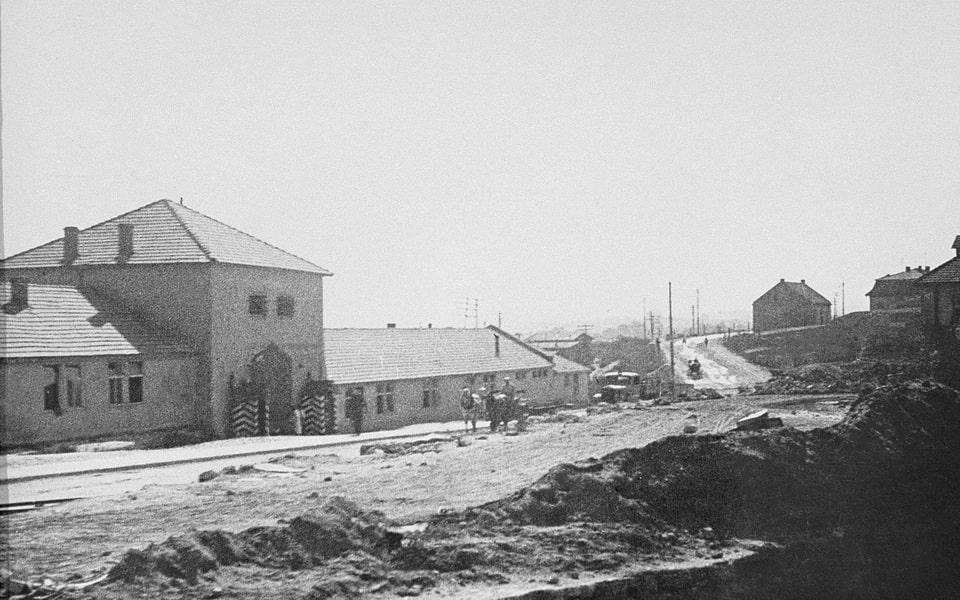Plaszow SS officer's club, headquarters, and barracks