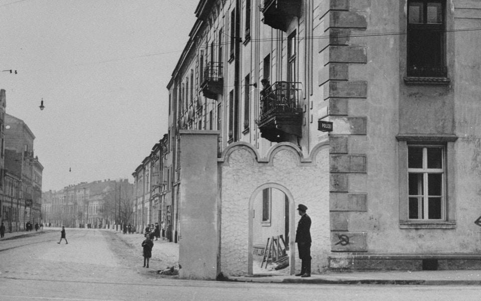 Ghetto gate № 2 Krakow