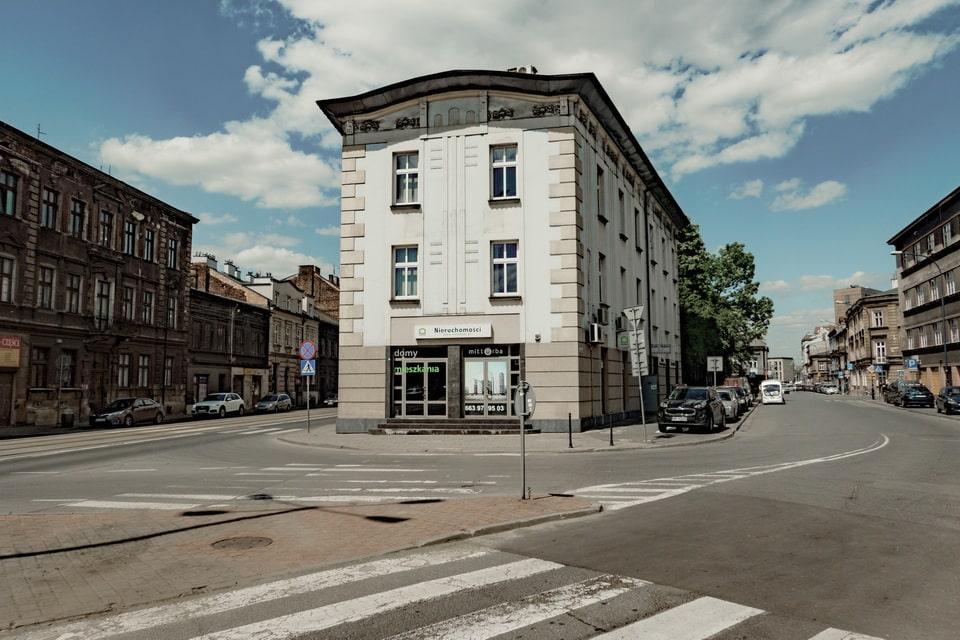 The former Ghetto gate № 2 Krakow