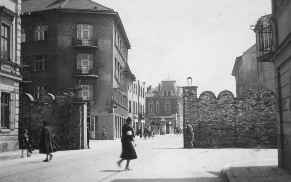 Ghetto gate № 3 Krakow