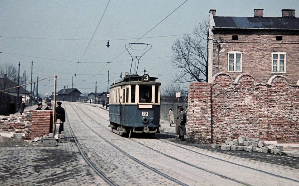 Krakow ghetto gate Na Zjezdzie street