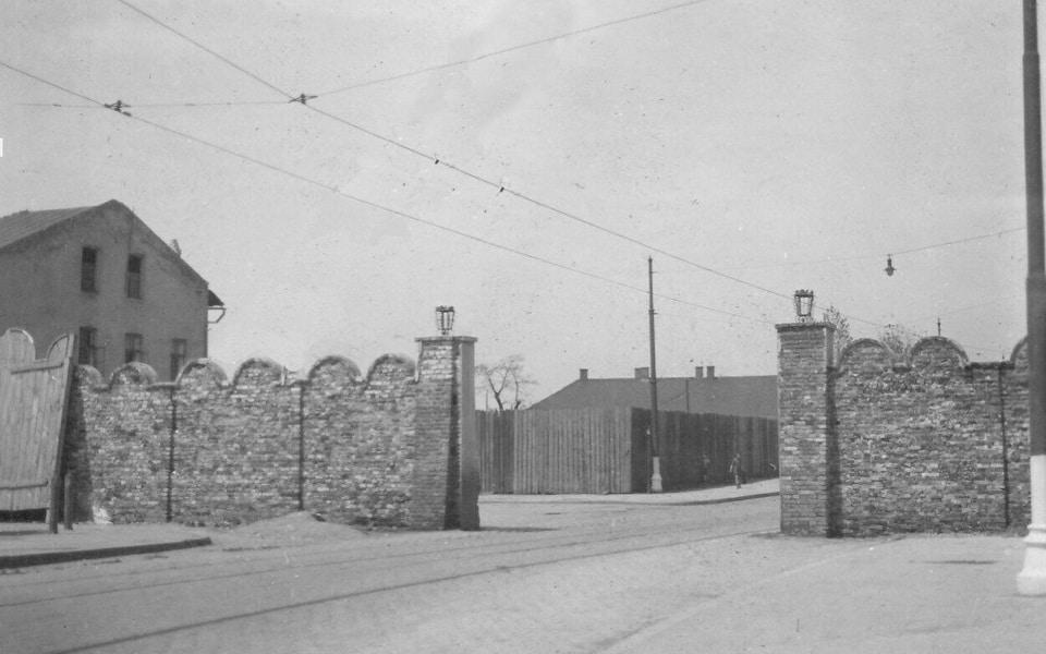 Ghetto gate № 4 Krakow