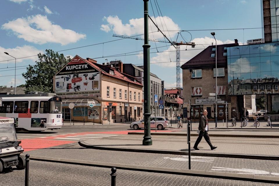 Na Zjezdzie street today