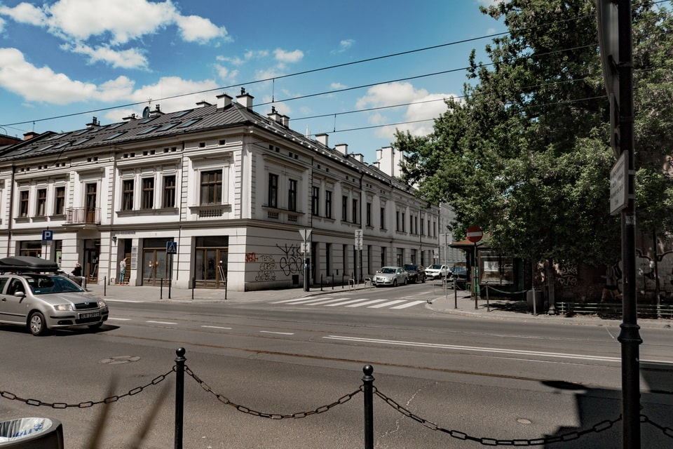 Krakow Ghetto gates after June 20, 1942