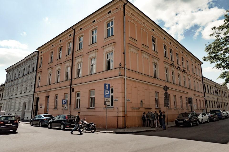 Ghetto Main Hospital: Krakow ghetto today