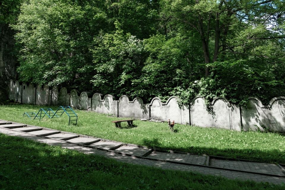 Ghetto wall in Krakow